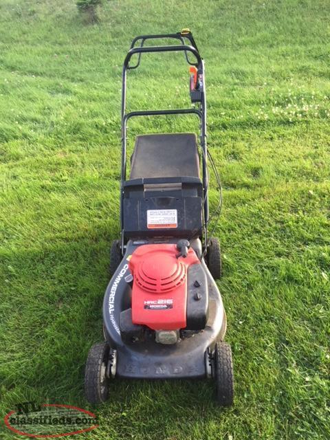 Commercial Honda Lawnmower