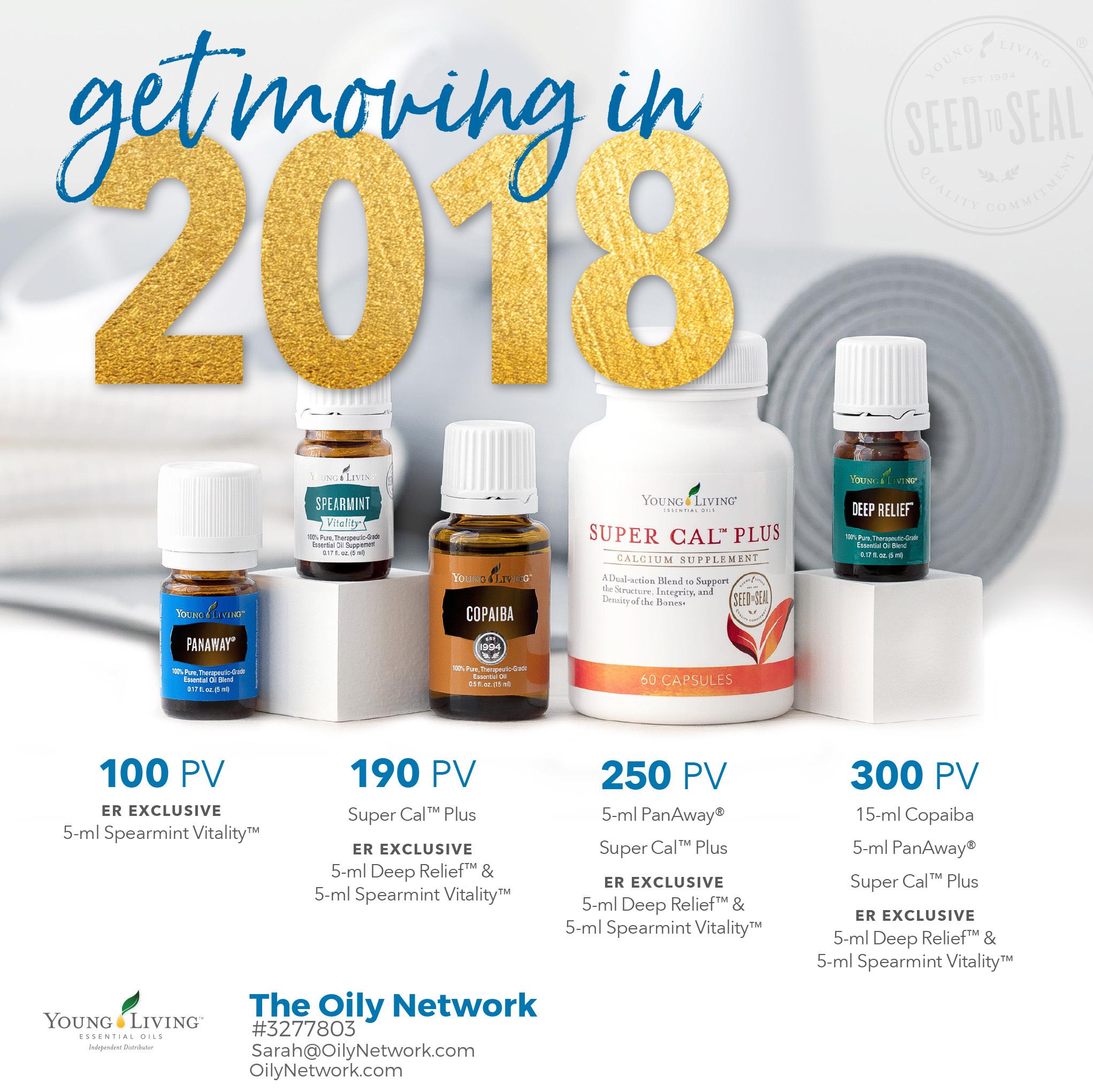 January 2018 Promotion