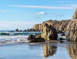 Sand Dollar Rocks, Big Sur, CA (Photo by Ken Pfeiffer)