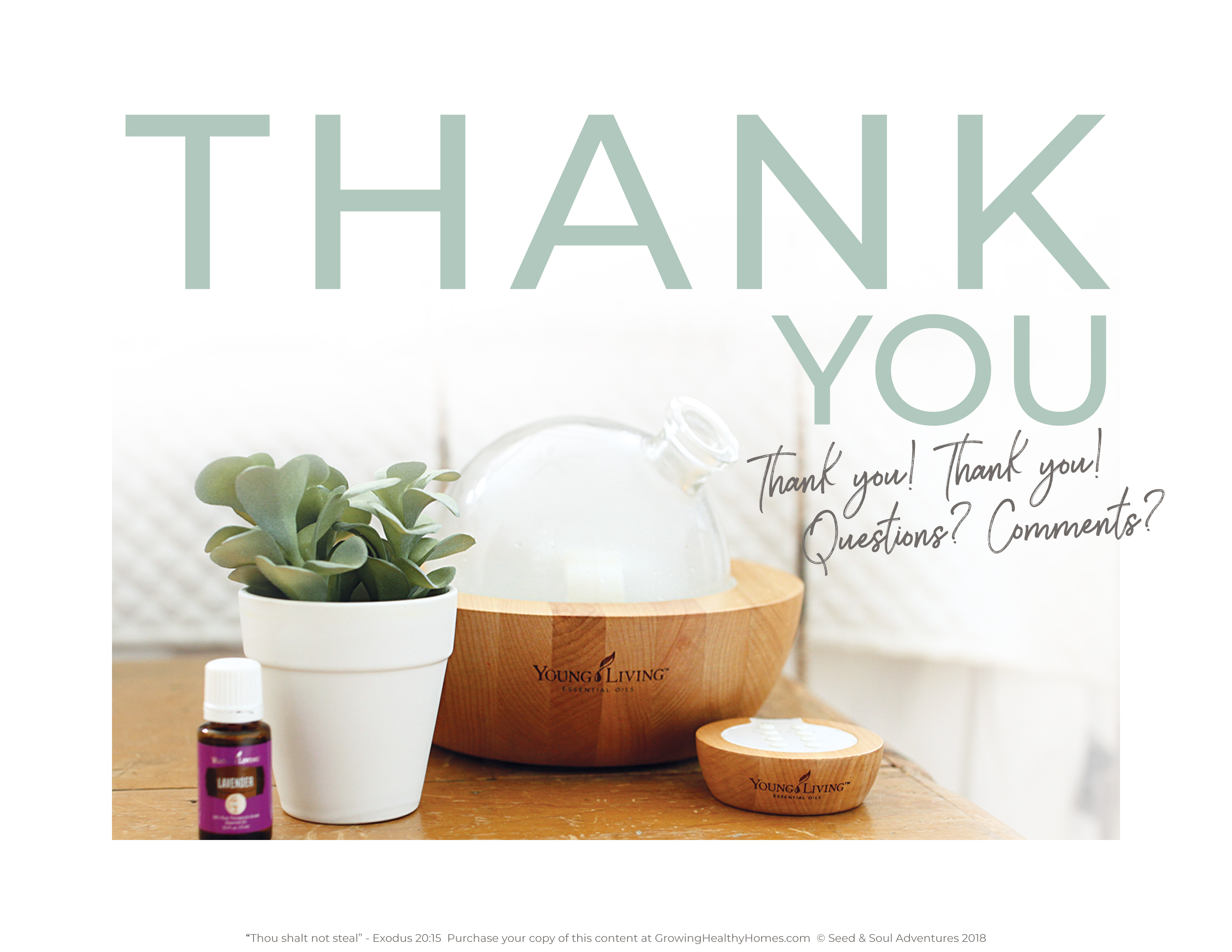 Young Living Essential Oils – Wind Beneath Our Wings