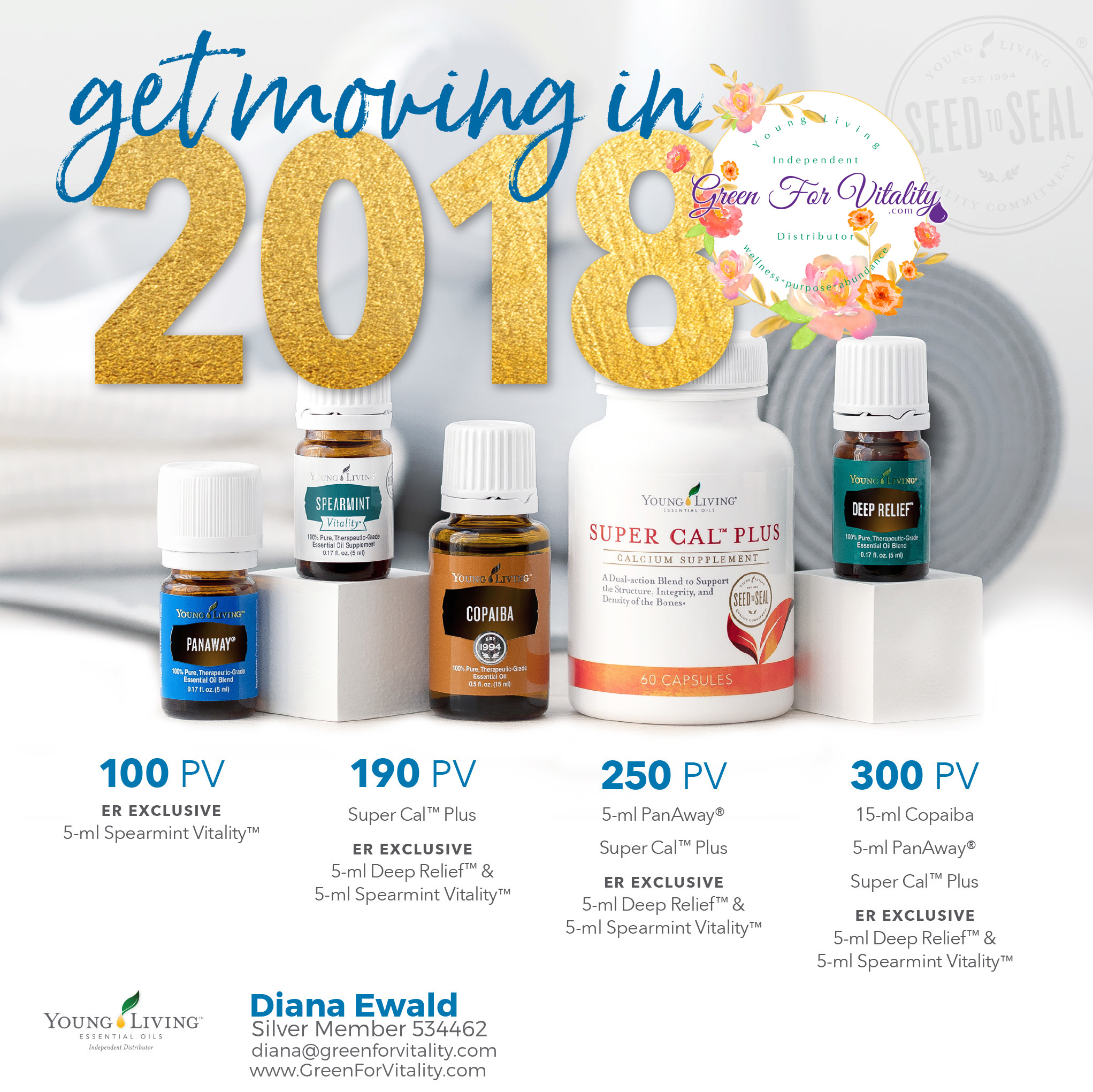 Young Living January 2018 Promotions