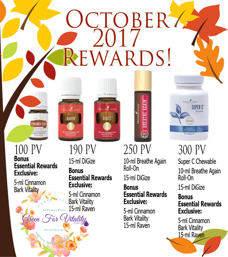 Young Living October Promotions
