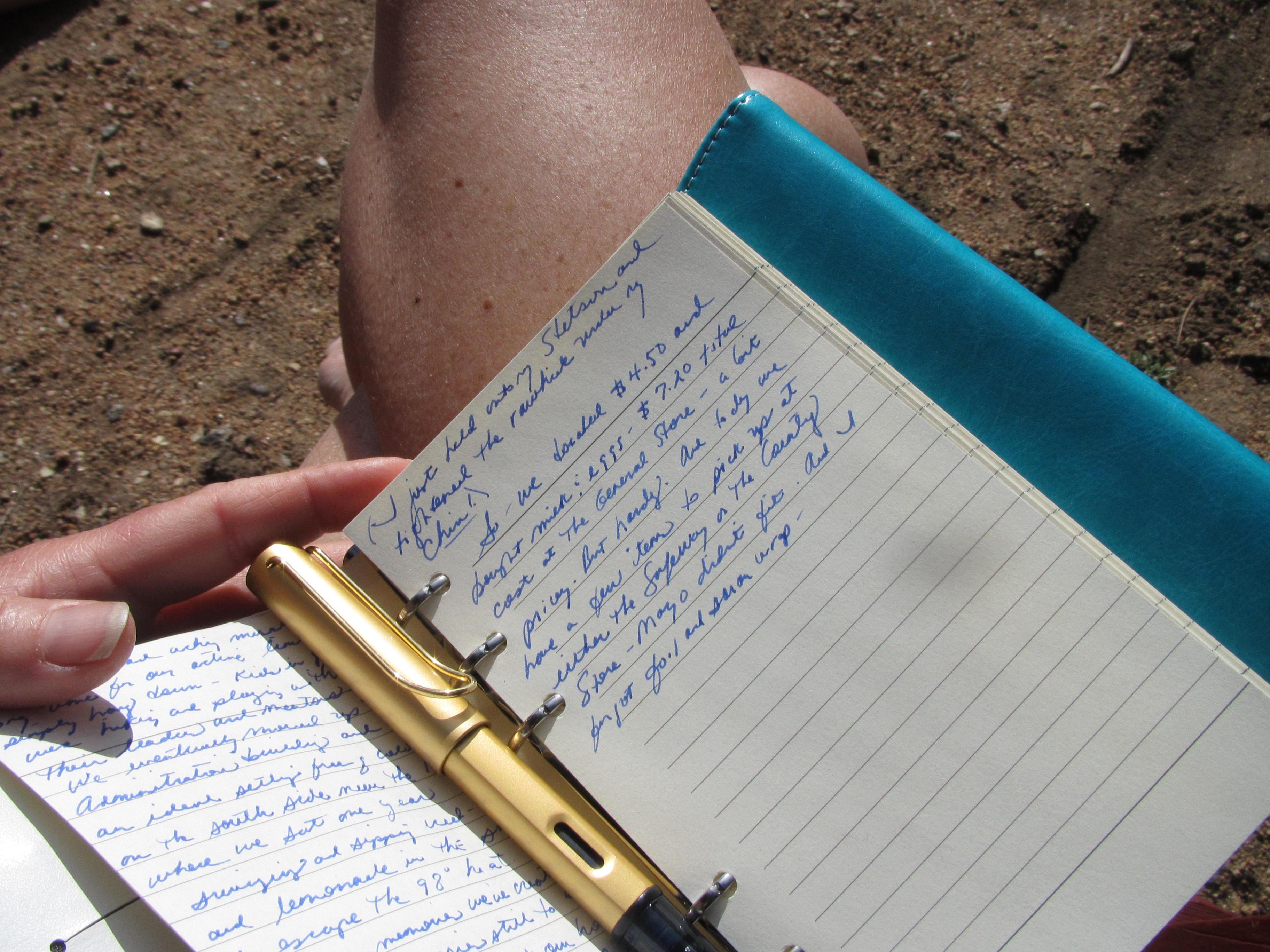 Journaling through anything!