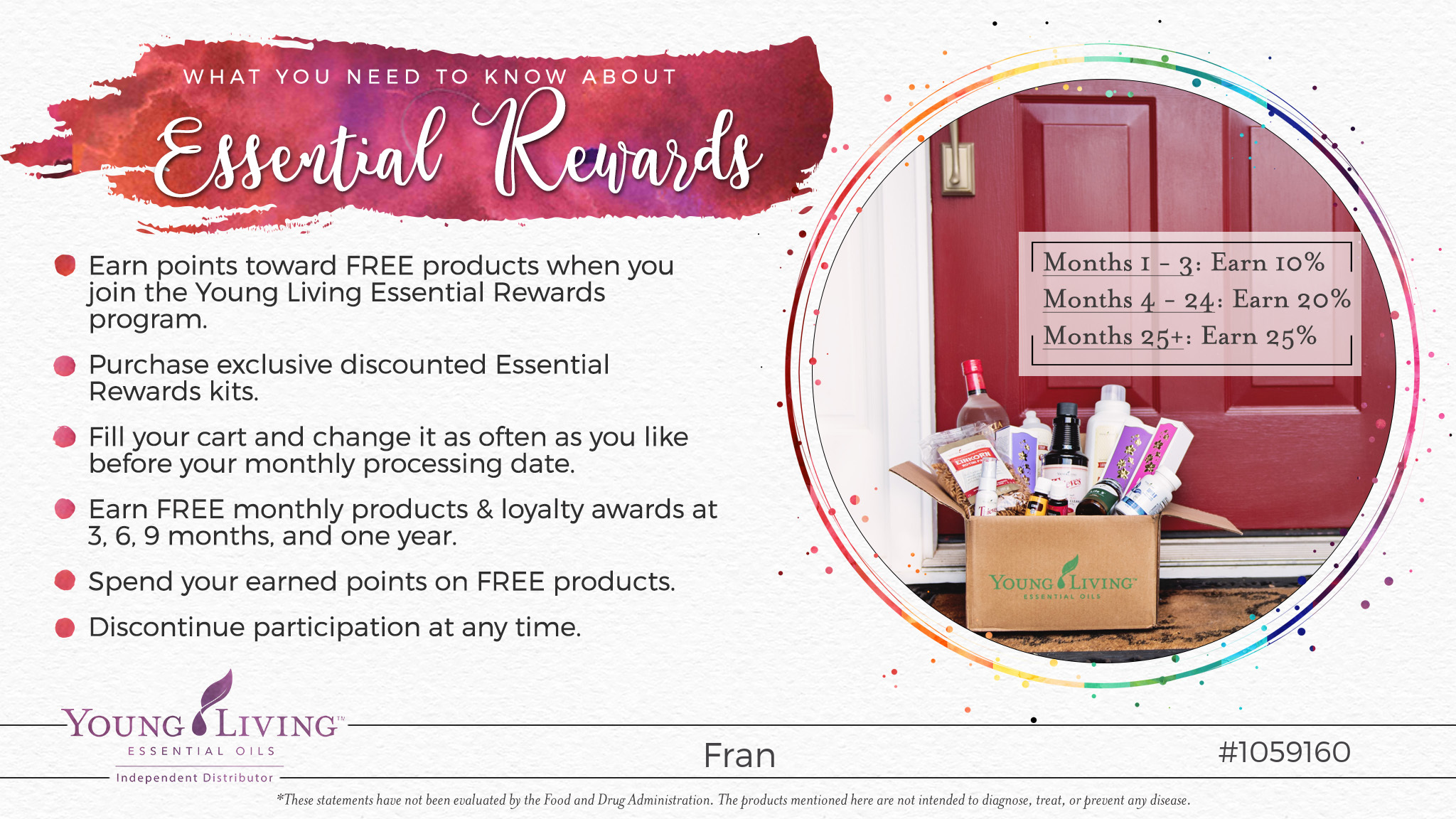 Essential Rewards Young Living