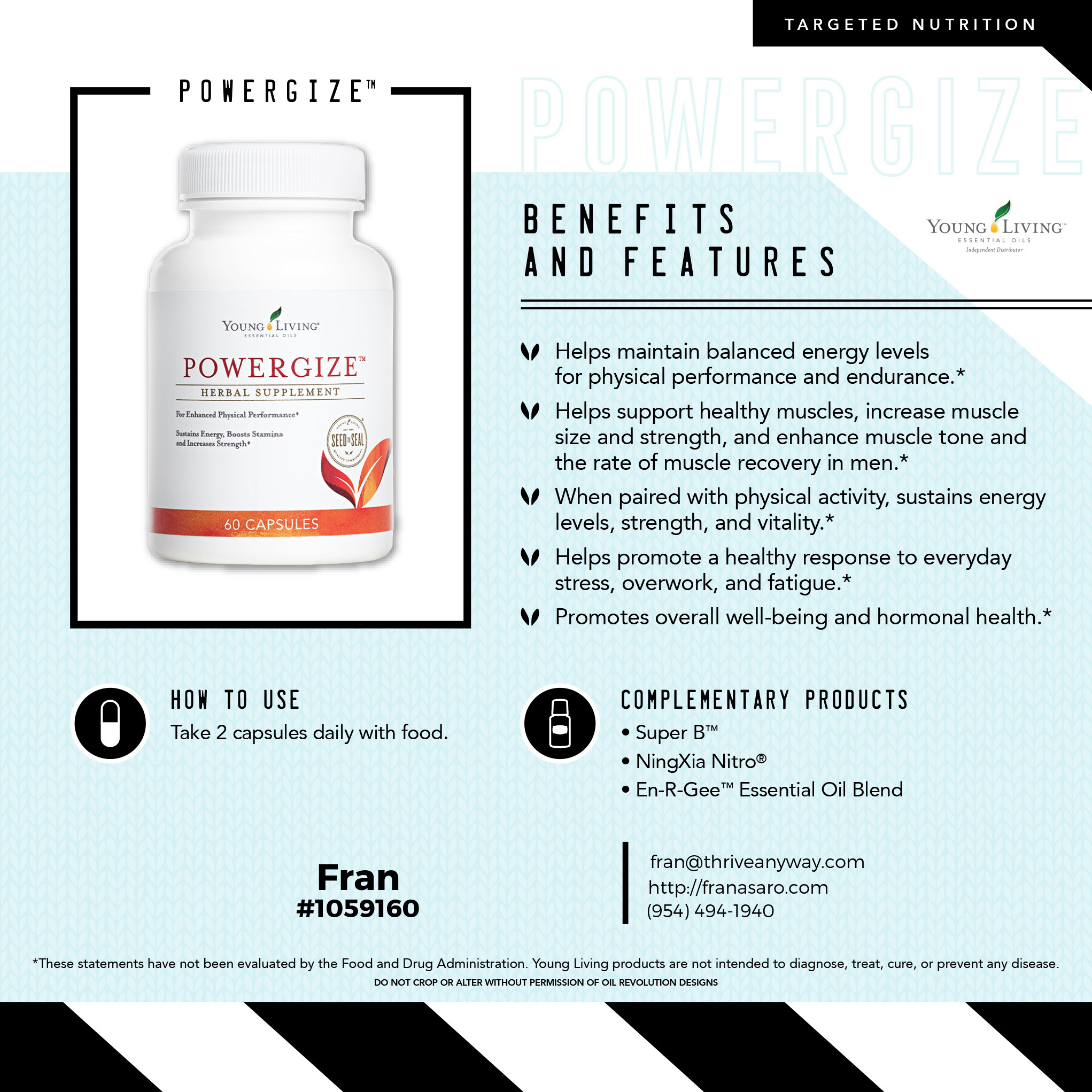 PowerGize by Young Living with Fran Asaro Stuart Florida