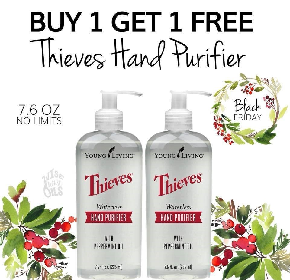 USA Black Friday special Thieves hand purifier