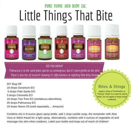 Essential Oils for Mosquitos and Ticks