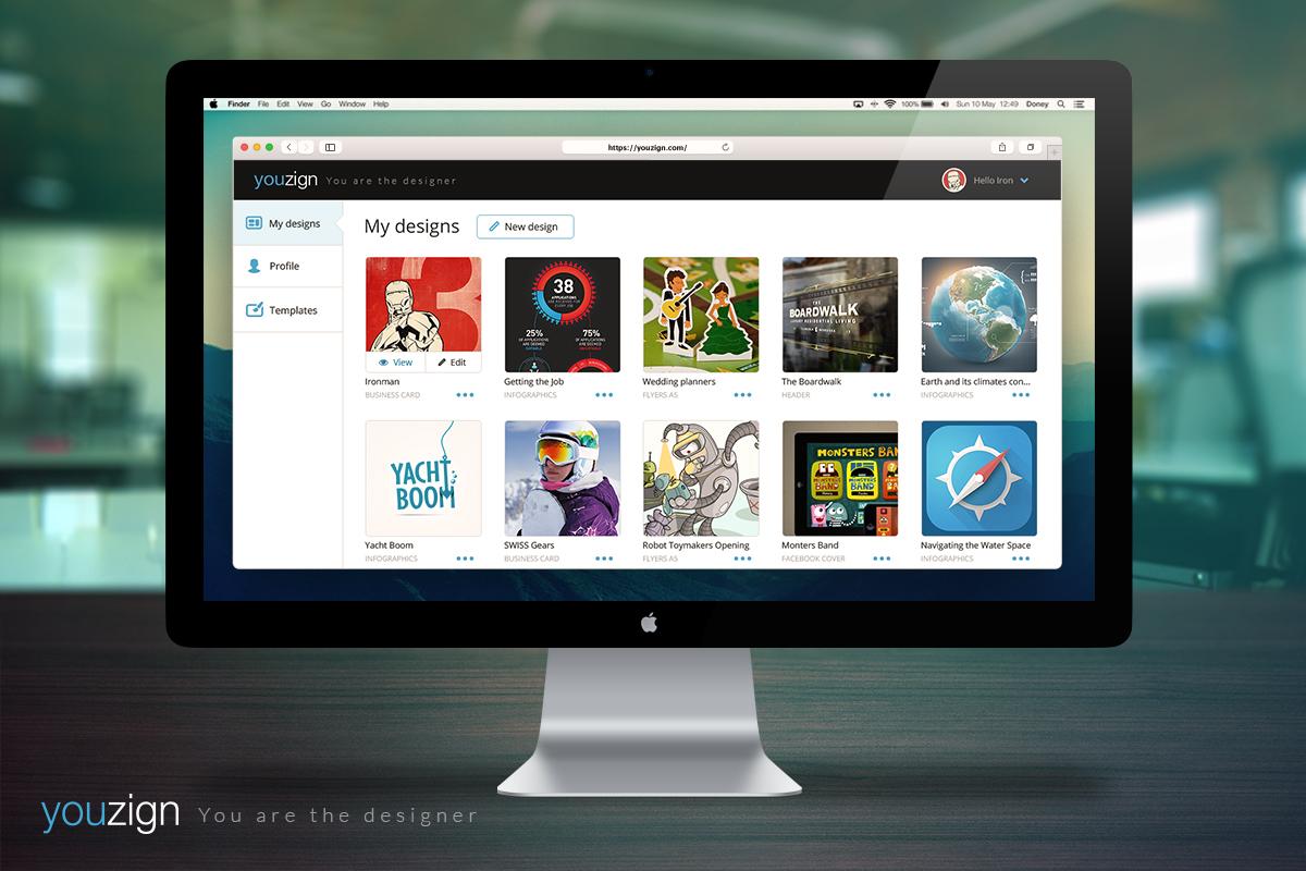 Dashboard in Macbook 1200 x 800 px
