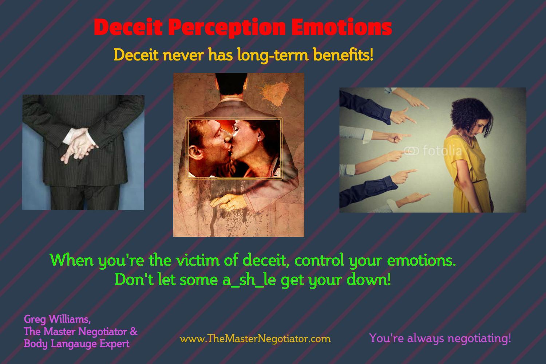Deceit Perception Emotions