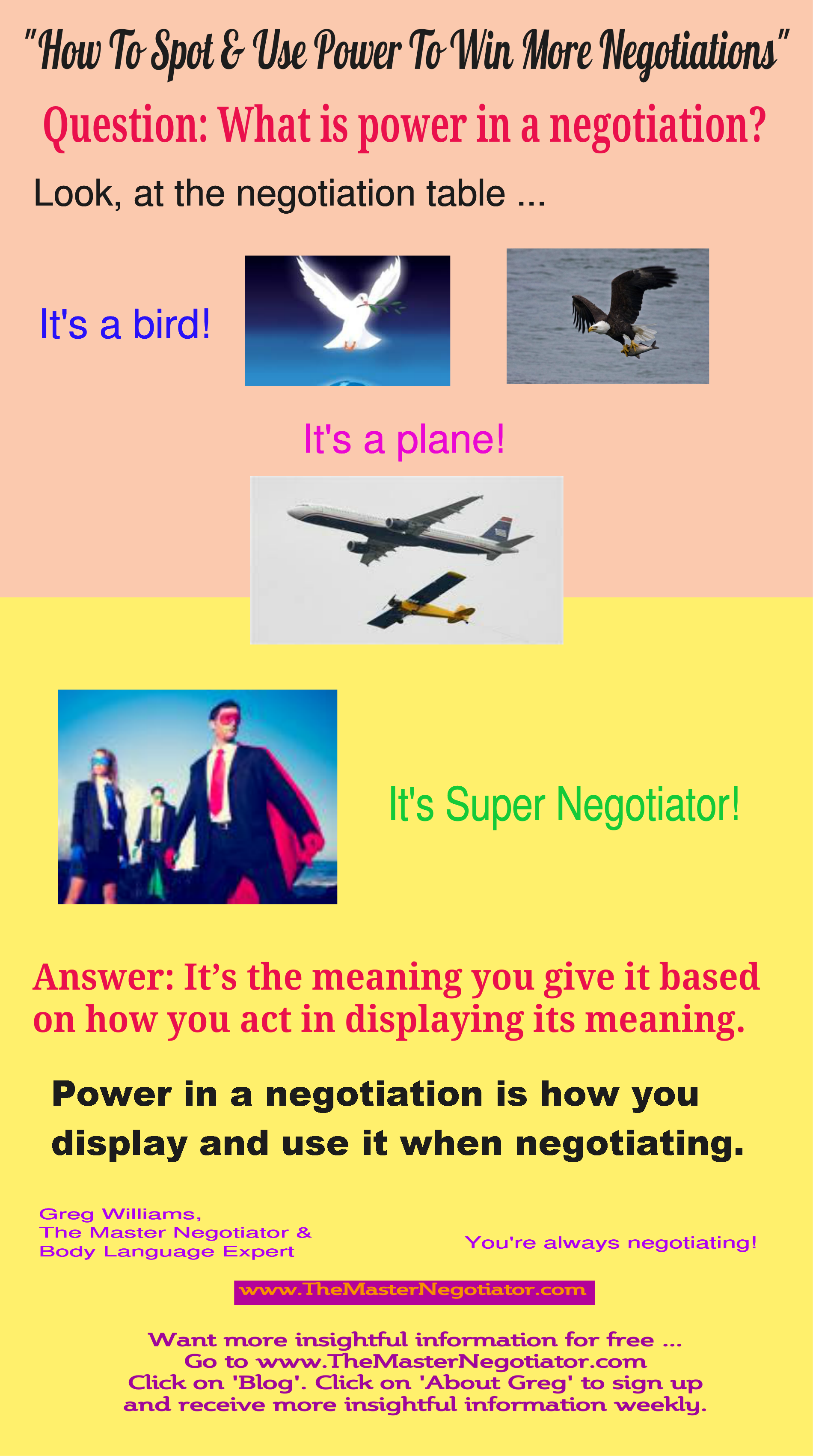 How To Spot  Use Power To Win More Negotiations