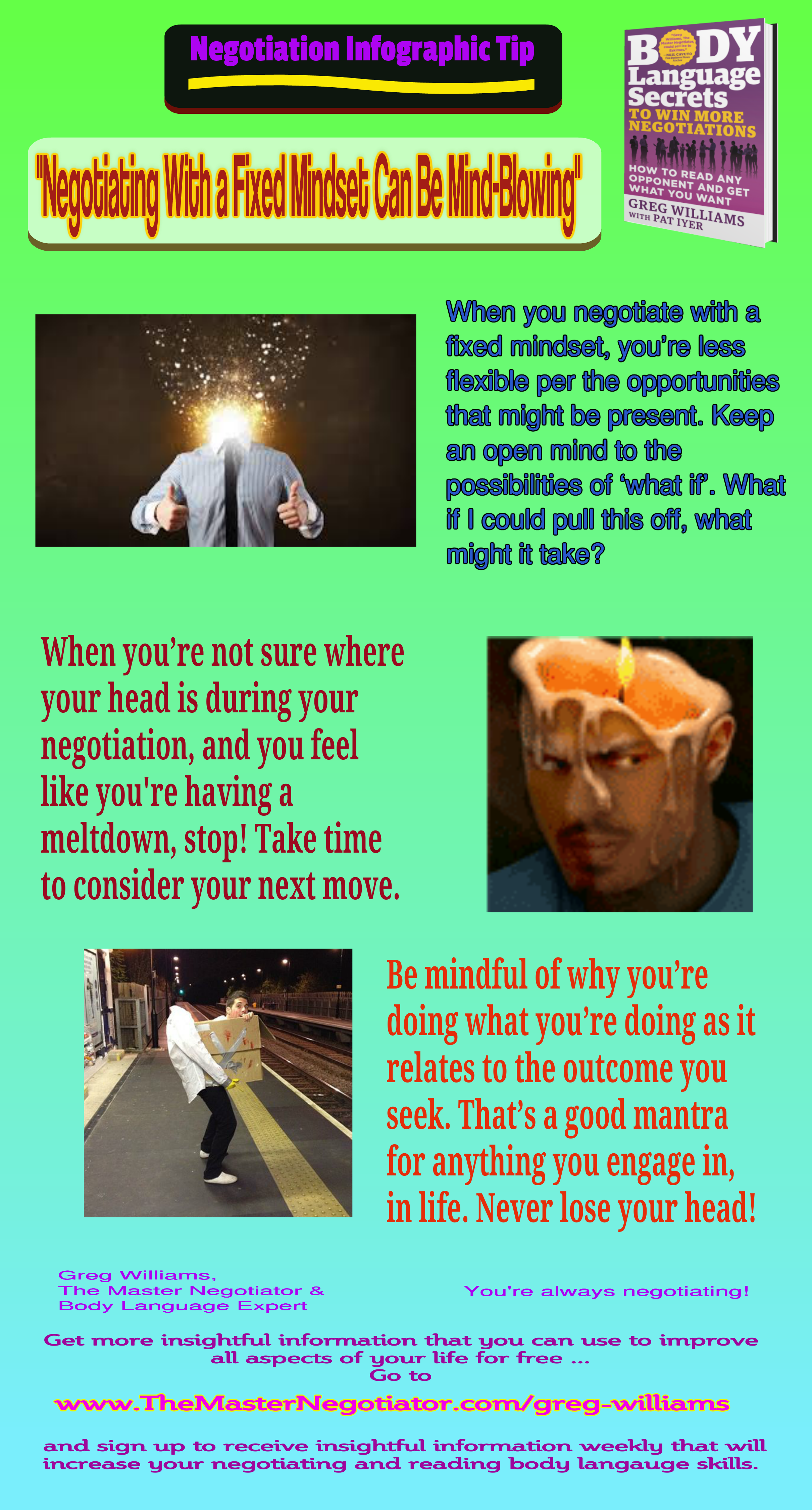 Negotiating With a Fixed Mindset Can Be MindBlowing