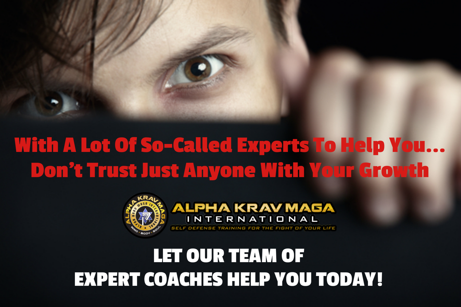 coaching, alpha, martial arts, krav maga