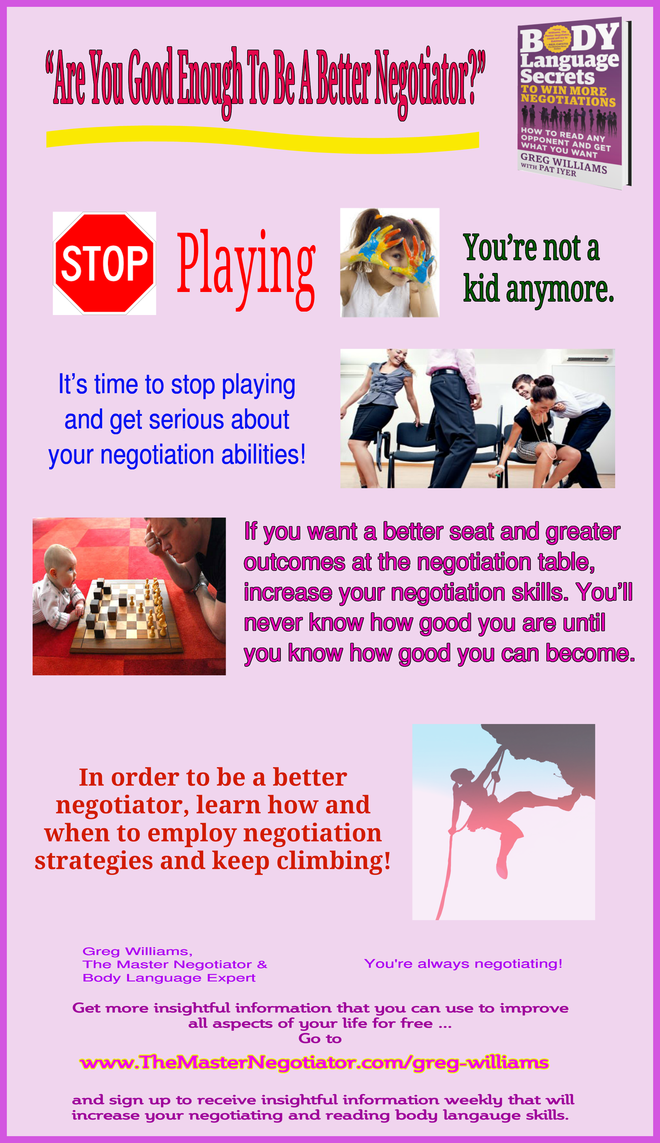 "Are You Good Enough To Be A Better Negotiator"" - Negotiation Tip ..."