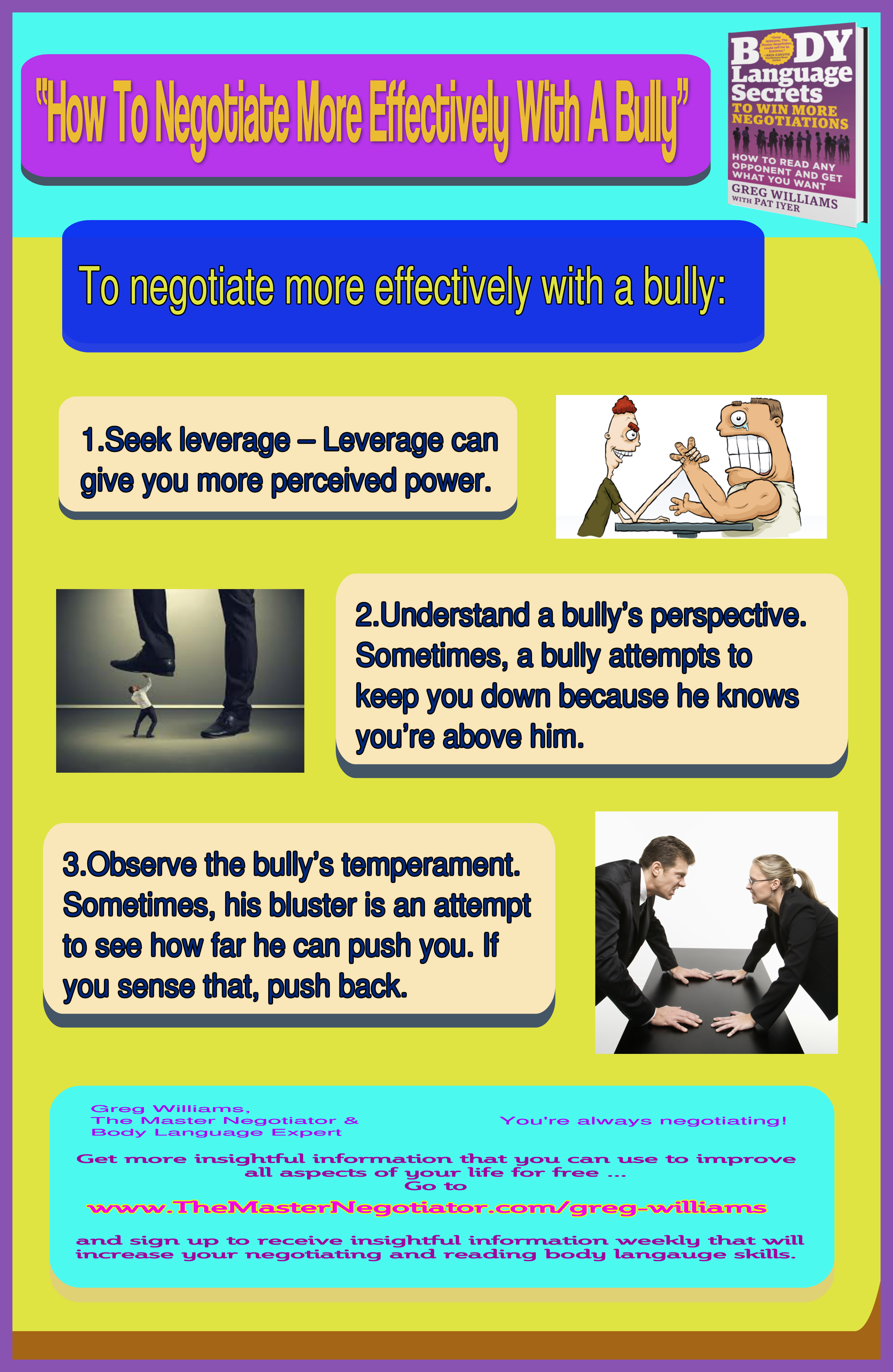 How To Negotiate More Effectively With A Bully