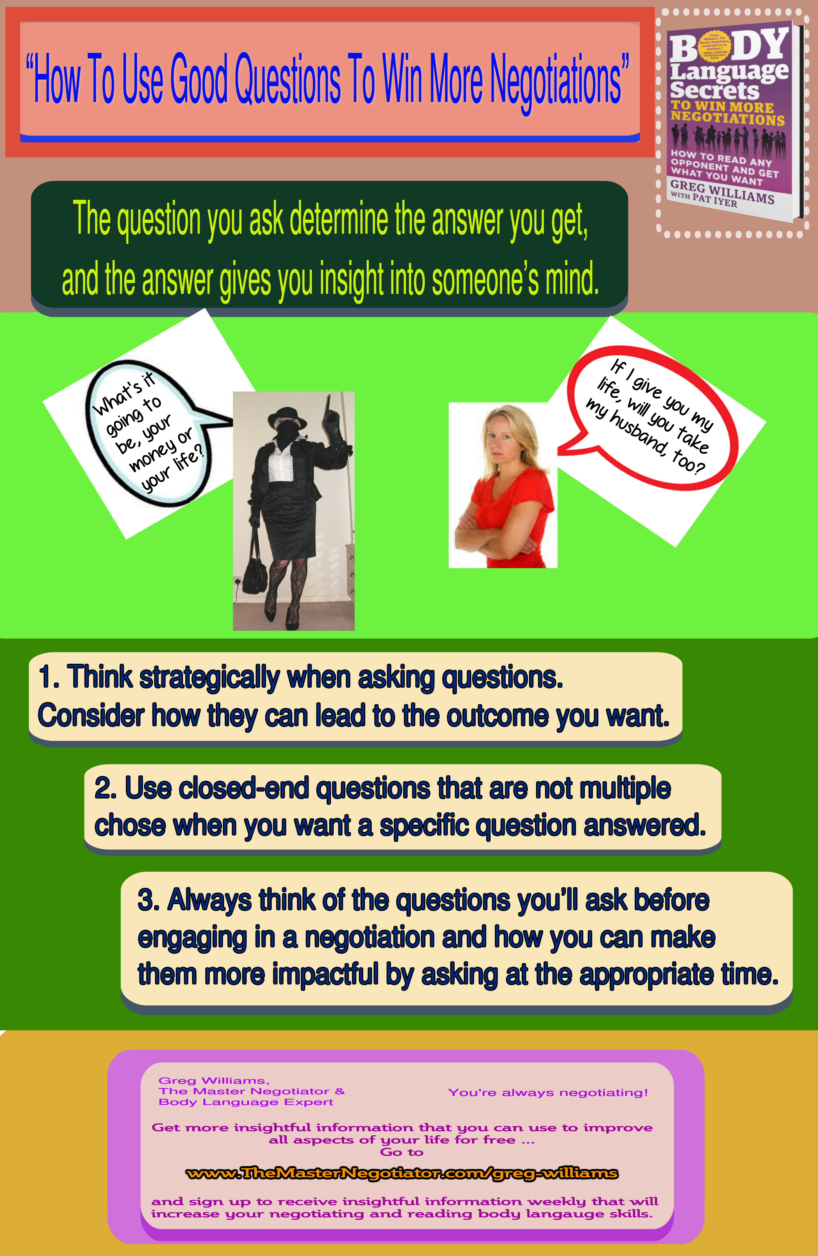 How To Use Good Questions To Win More Negotiations
