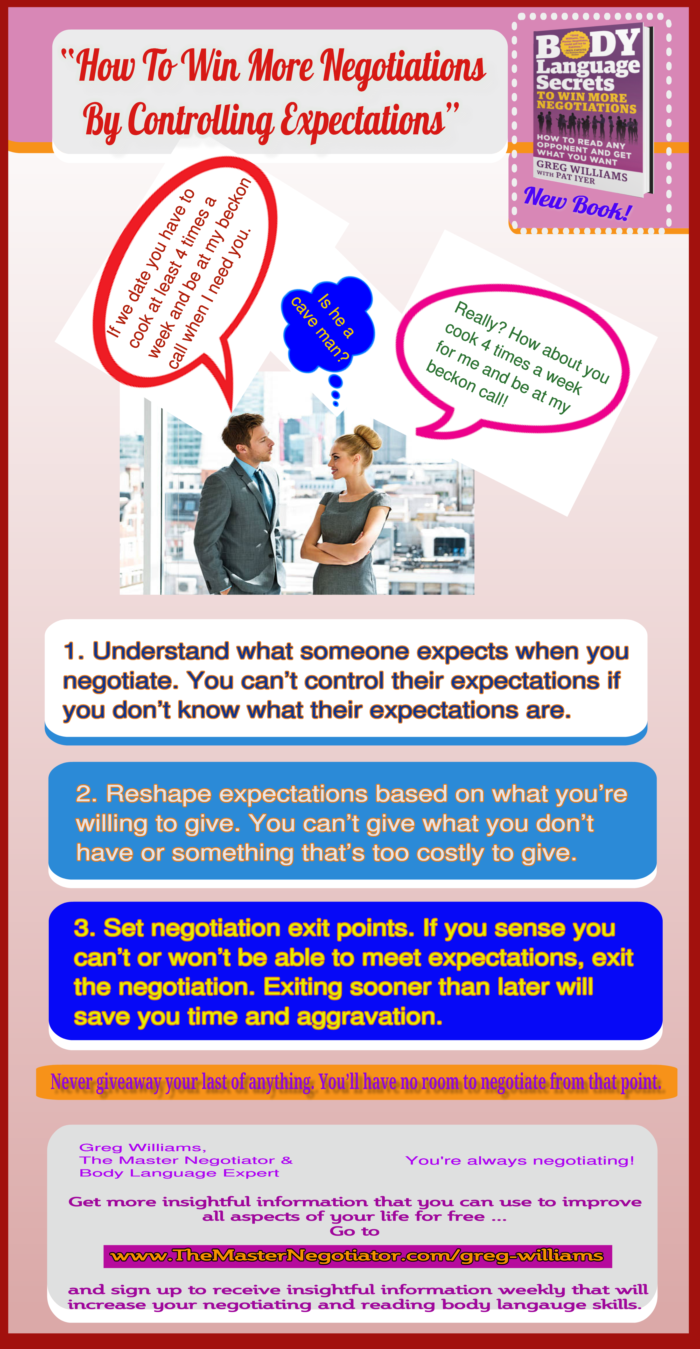 How To Win More Negotiations By Controlling Expectations