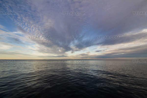 Blue sky storm