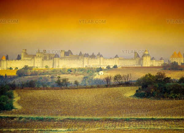 Carcassonne, a medieval town
