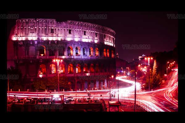 Rome in light