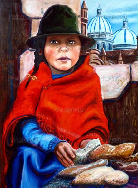 La petite fille aux haricots