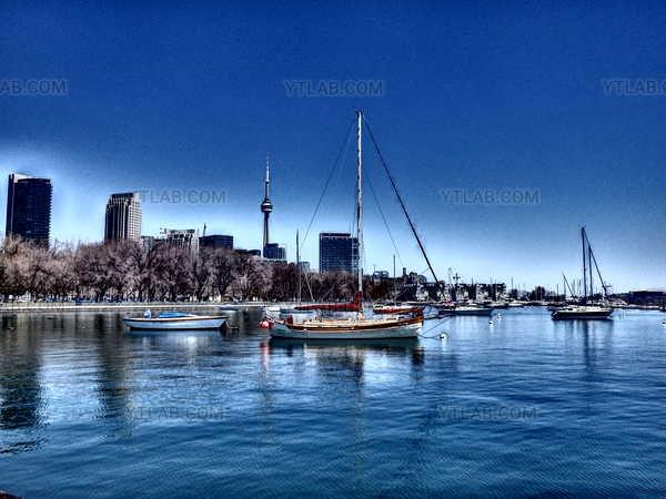 Sailboat at Toronto
