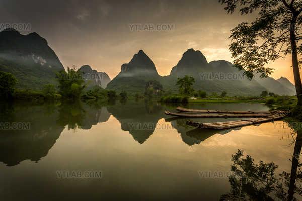 Paysage de Yangshuo