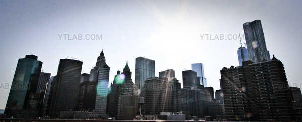 Lensflare over New-York