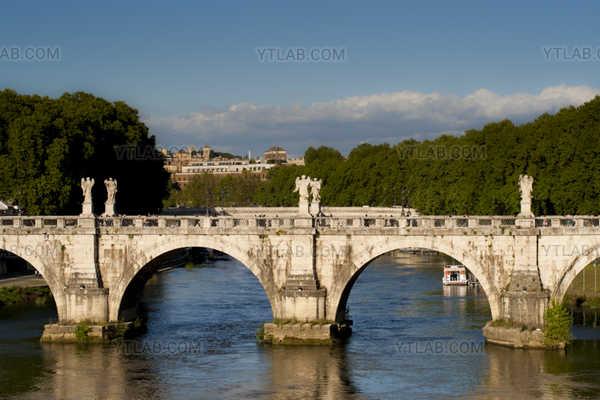 Rome, St-Angel bridge