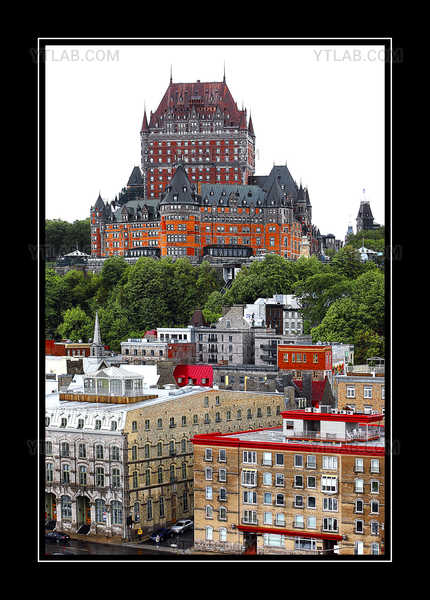 chateau frontenac on high