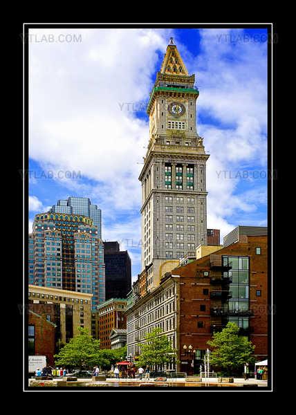quincy market square, boston