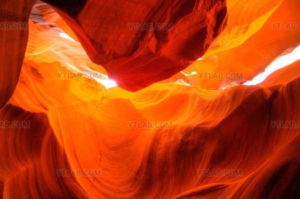 Orange waves.