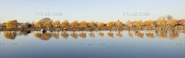Autumn Landscape - Lachine (2) panoramic