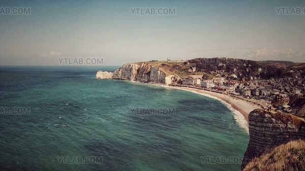 Cliffs Etretat