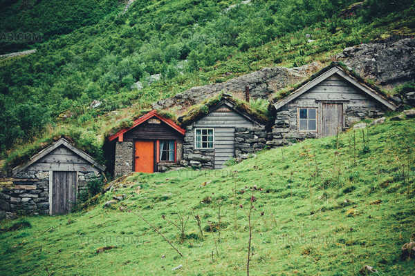 Small chalets in Norway