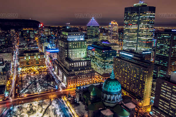 Montreal Downtown core