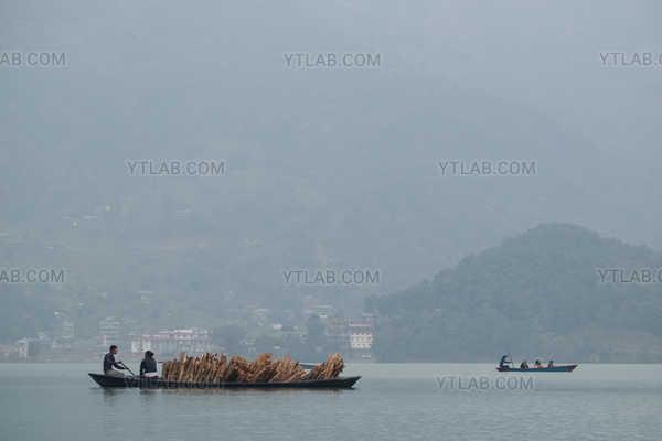 Crossing Wood Nepal