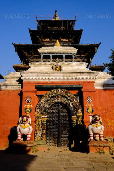 Hindu temple in Nepal