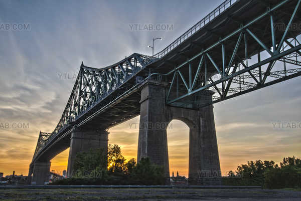 Pont Jacques-Cartier HDR