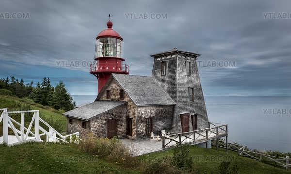 Lighthouse in Gaspesie