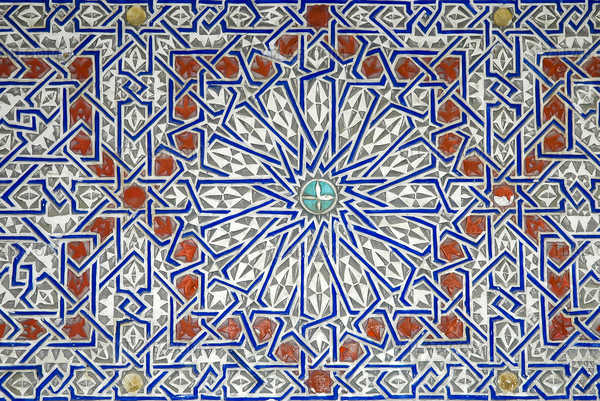 Arabesque Blue-Red