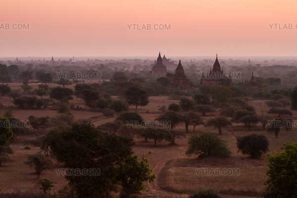 La vallée de Bagan