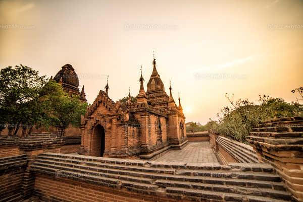 Une pagoda