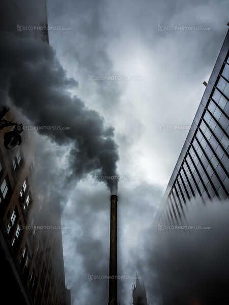 Steamy city