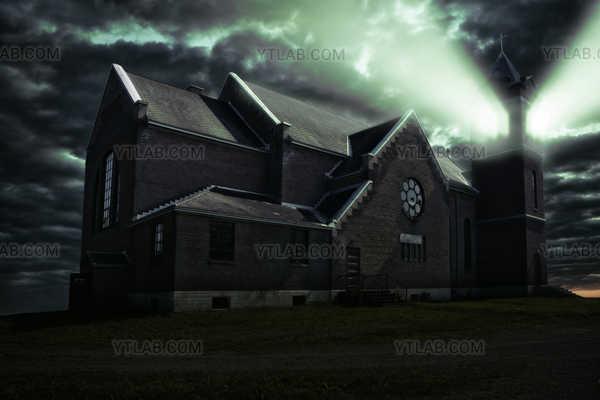 Église hantée