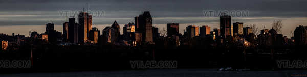 Montréal à l'aube
