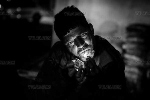 Le fumeur d'Udaipur