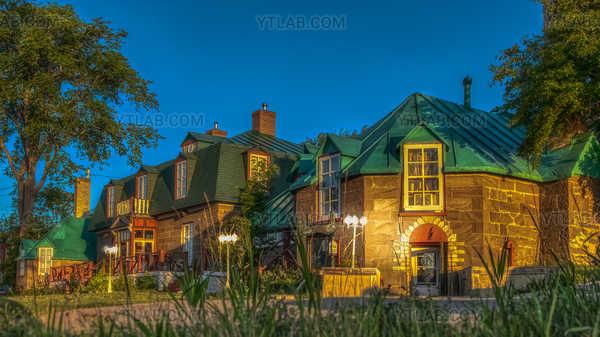 Wiliam Wakeham house in Gaspé
