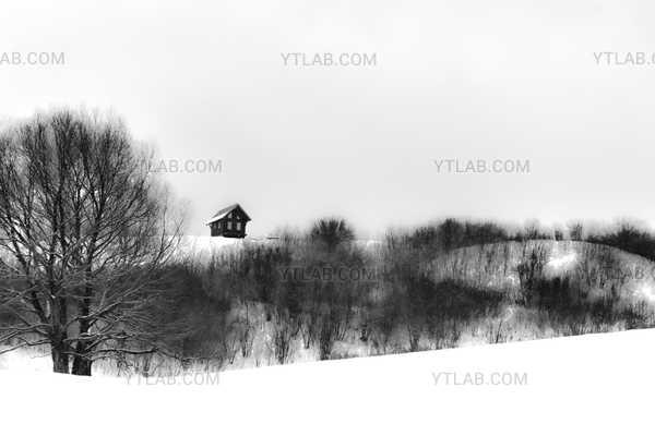 Petite cabane sur la colline