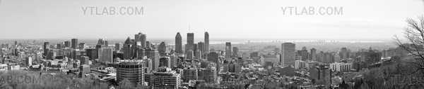 Montréal BW Panorama