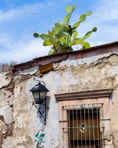 Facade of a house Mexican